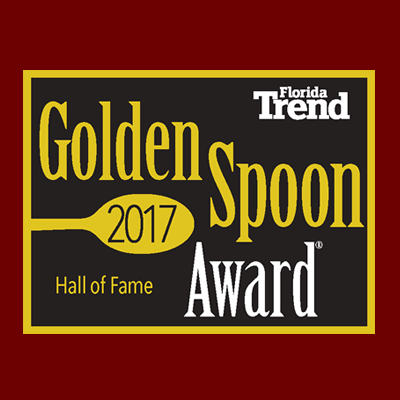 Golden Spoon Hall of Fame Award