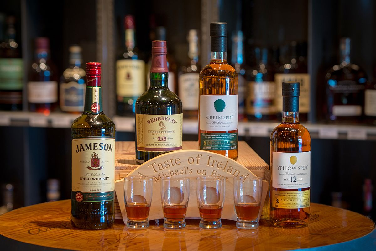 Introducing Michael S Irish Whiskey Flight Michael S On East Blog