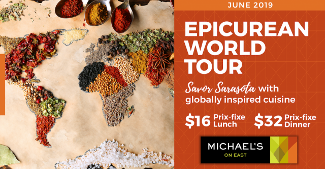 JUNE 2019: Savor Sarasota - World Epicurean Tour