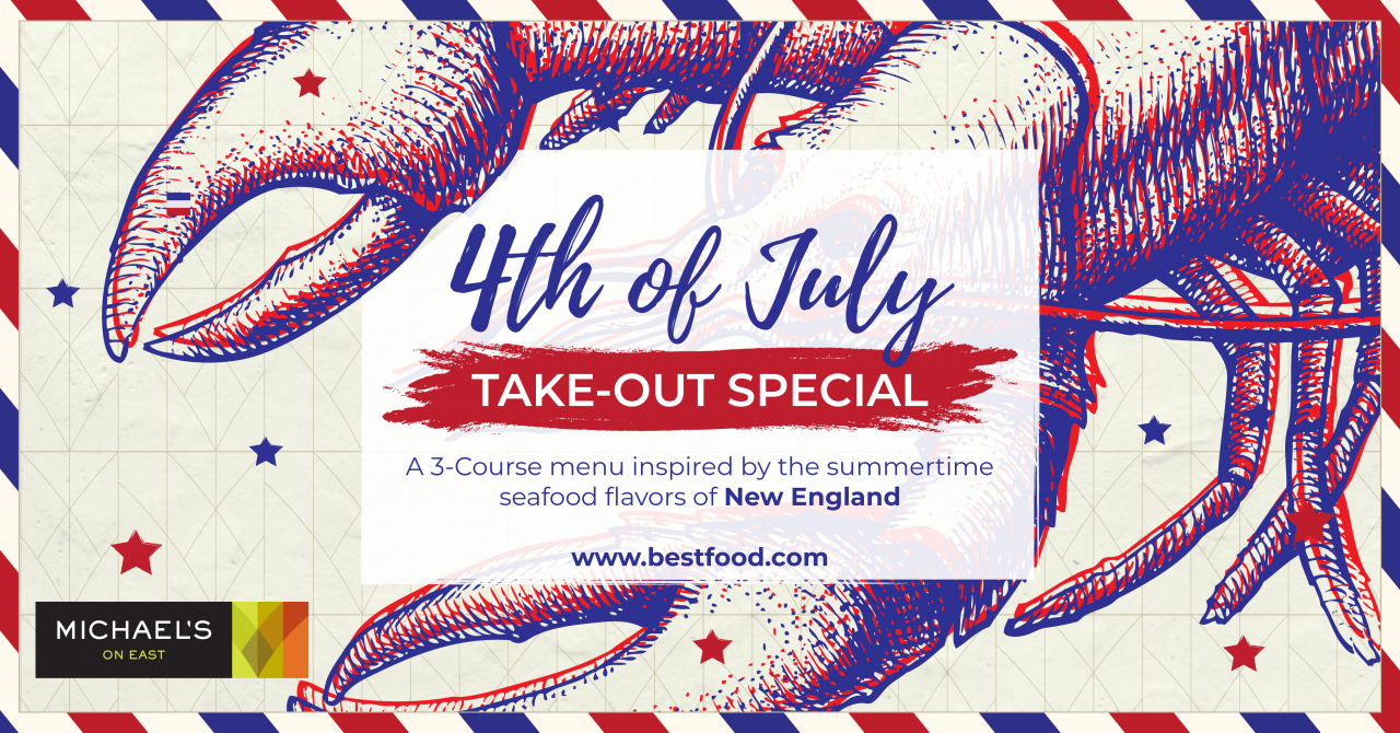 Lotsa Lobster - July 4th Takeout Special