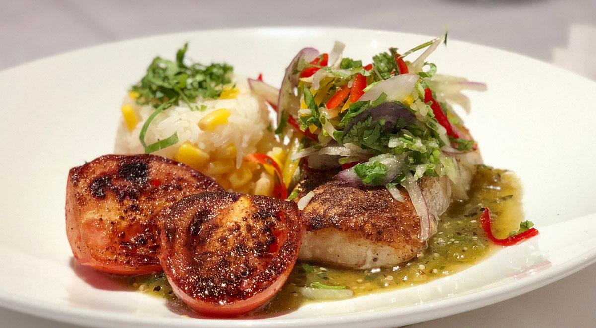 Recipe: Coriander-Crusted Mahi-Mahi