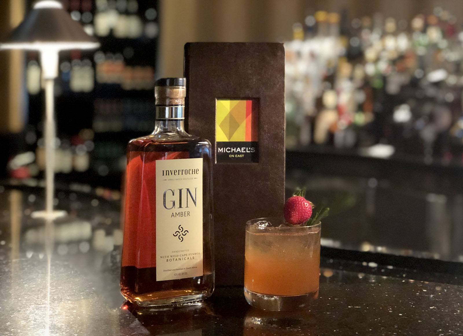 Inverroche Amber Gin Makes Its Debut In Florida At Michael S On East