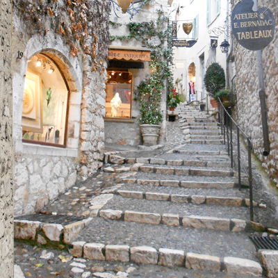 Walkway Stairs in France St Paul de Vence