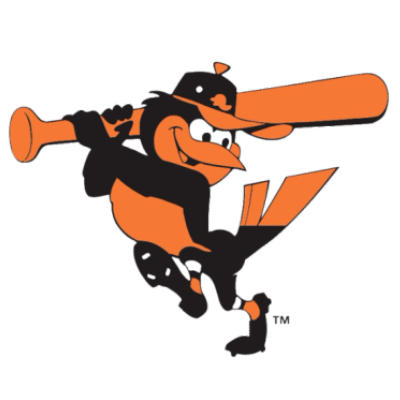 Orioles Bird for Baltimore Menu