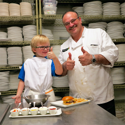 Jasper and Chef Jamil