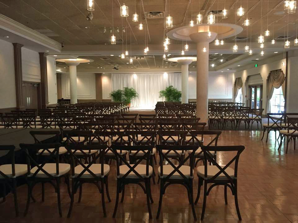 Kosher Catering - Wedding Ceremony Setup in Ballroom