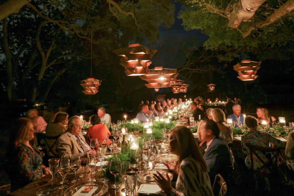 Wine Dinner at Selby Gardens