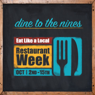 Eat Like a Local Restaurant Week Menu
