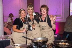 Safari Sarasota Guests Cooking