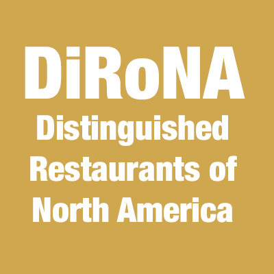 DiRoNA Award: Distinguished Restaurants of North America