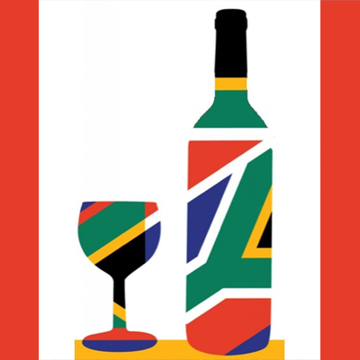 South Africa Wine Flag